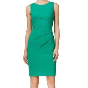 Green Calvin Klein Sheath Dress